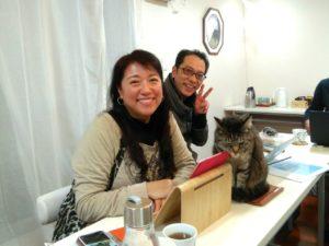 伊藤マナさんとヒロさんとレオ君の3ショット
