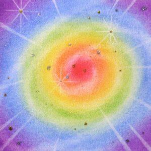 パステル画の銀河系