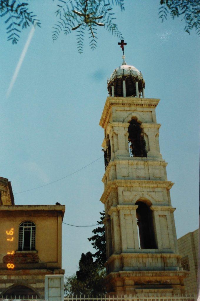 教会の鐘の塔
