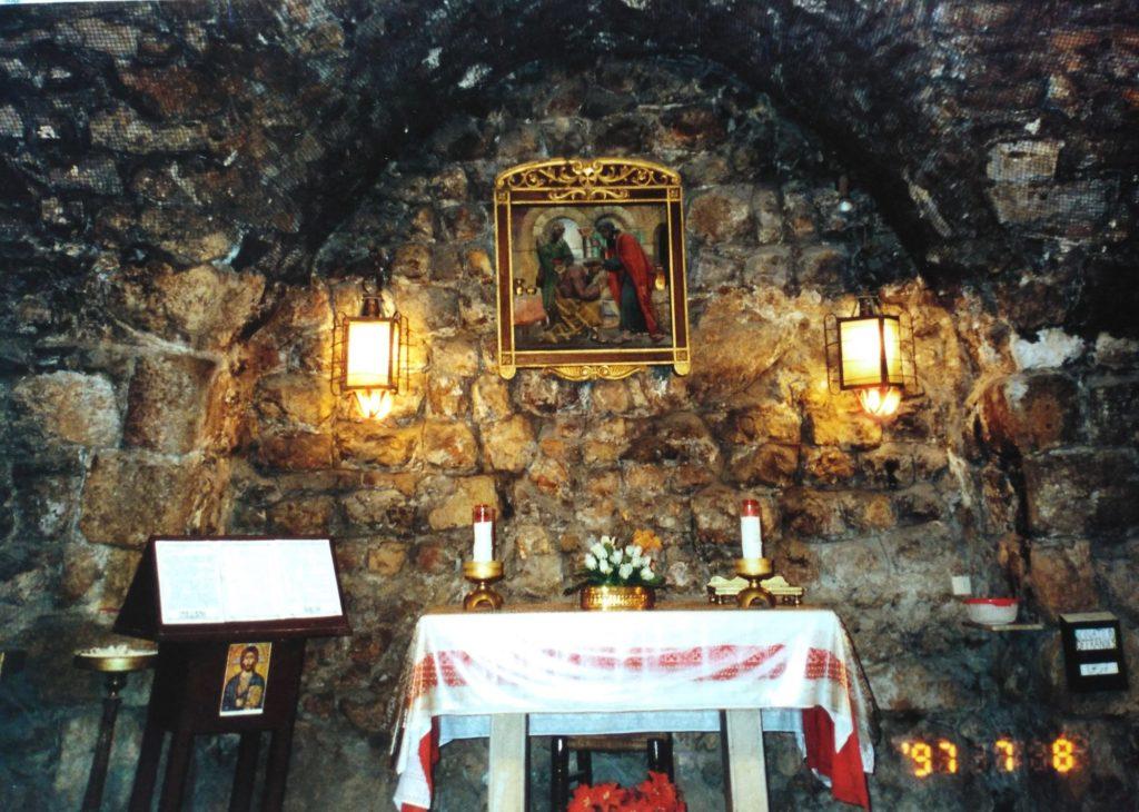 地下の礼拝堂