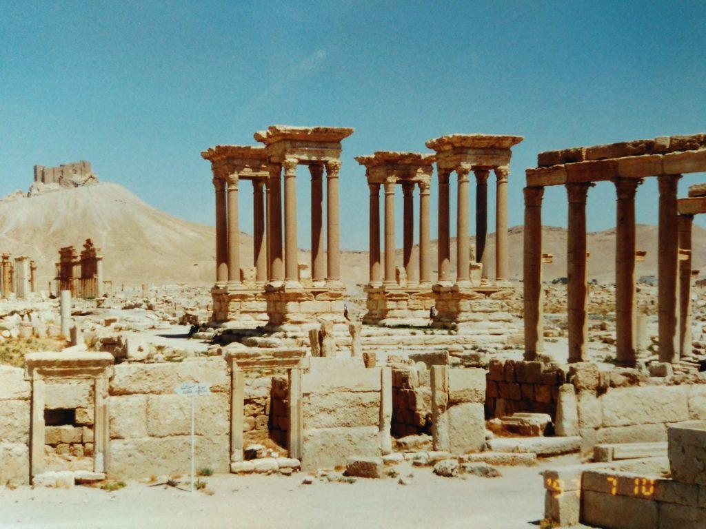 パルミラ石柱群