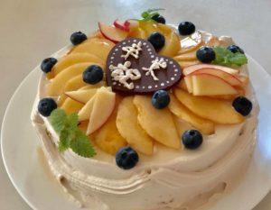 卒業祝いケーキ