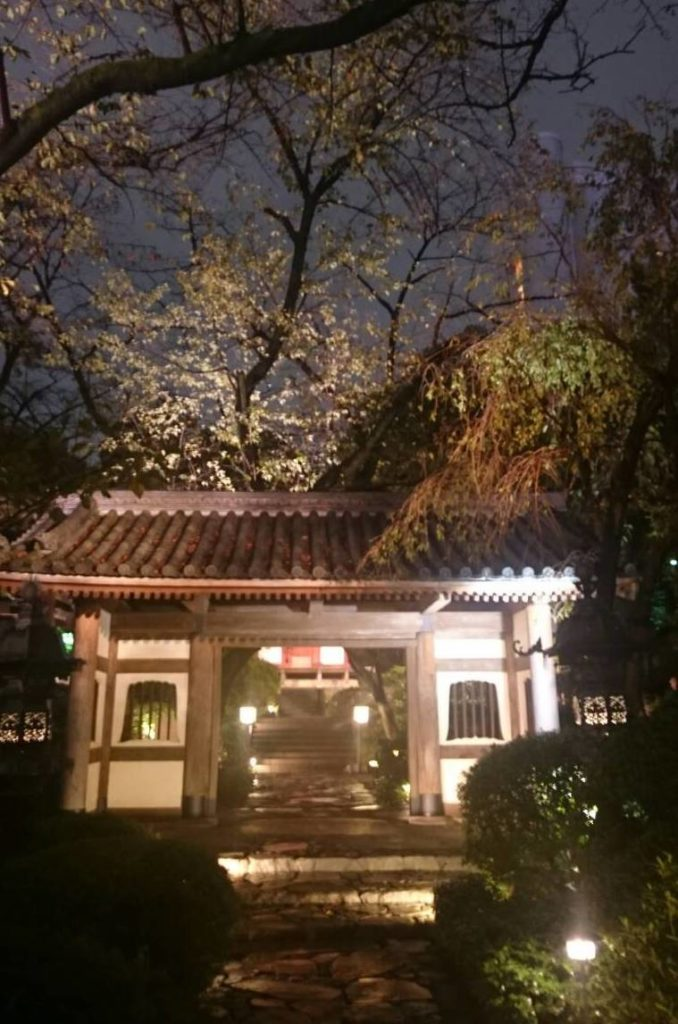 日本庭園 門構え