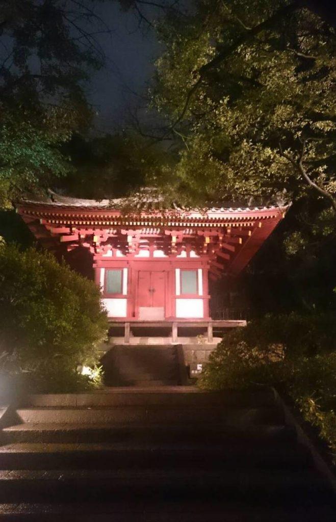 日本庭園 お堂