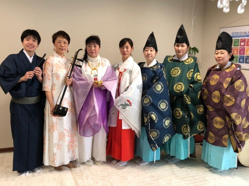 チャリティー音楽祭記念撮影