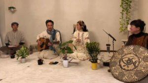 チャリティー音楽祭 ボロンと伊藤マナさん、ヒロさん