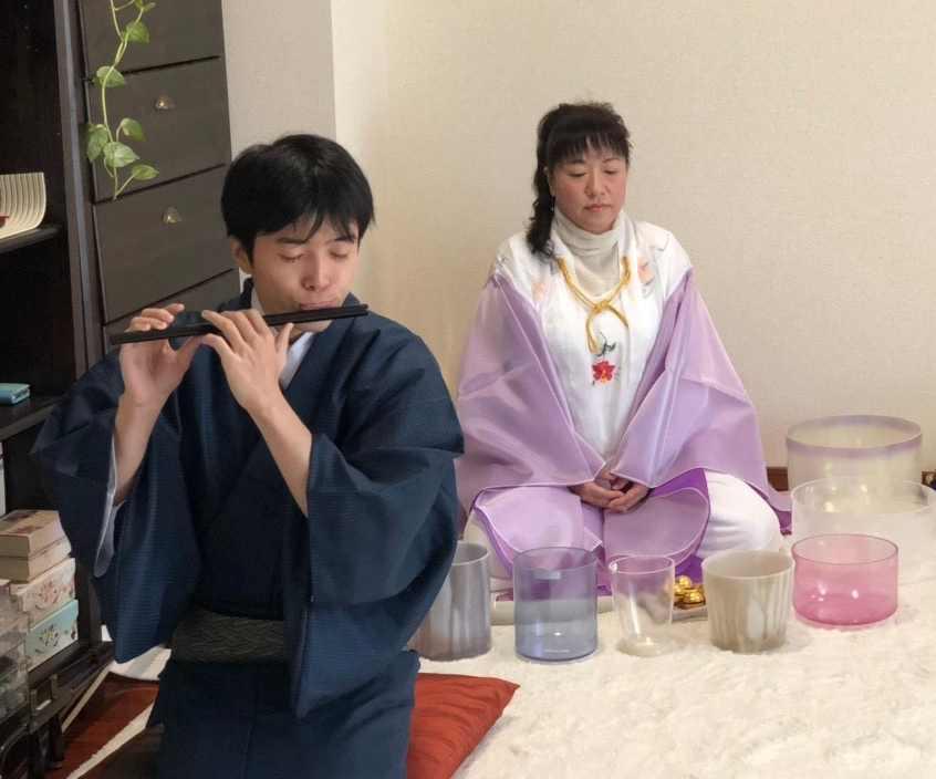 チャリティー音楽祭 篠笛