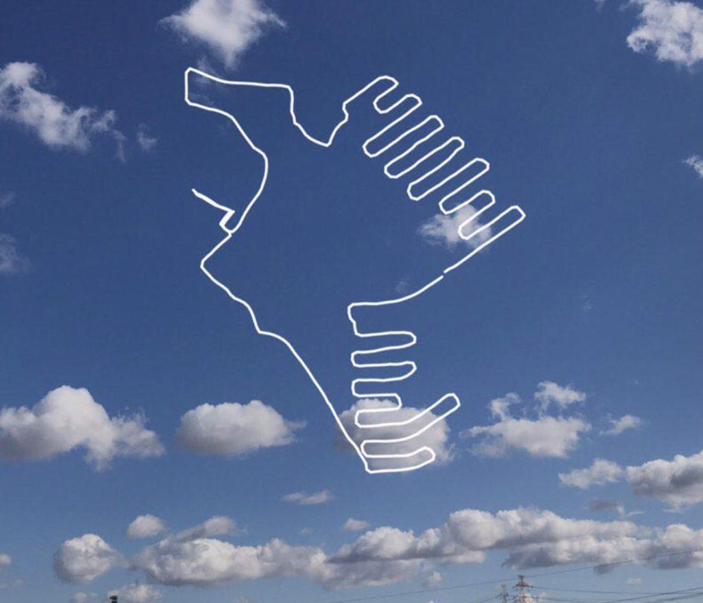 ランニングアート ナスカの地上絵