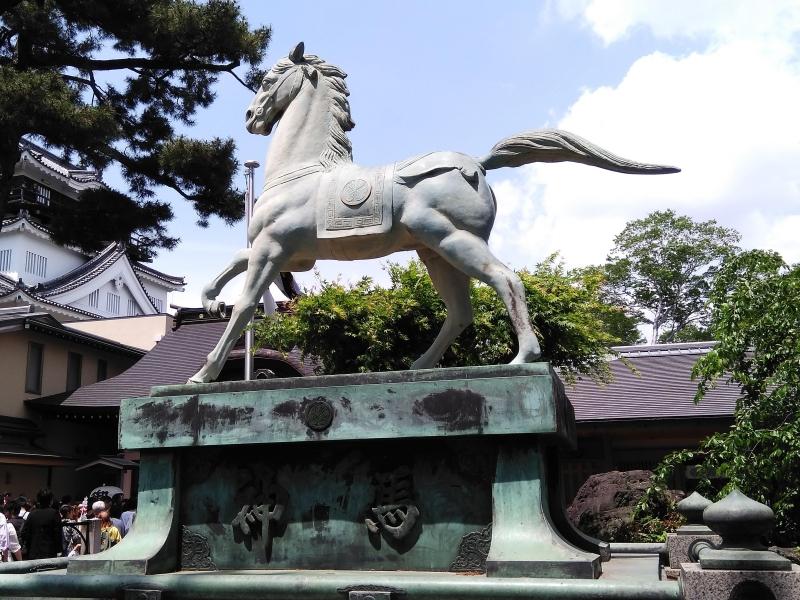 龍城神社 神馬