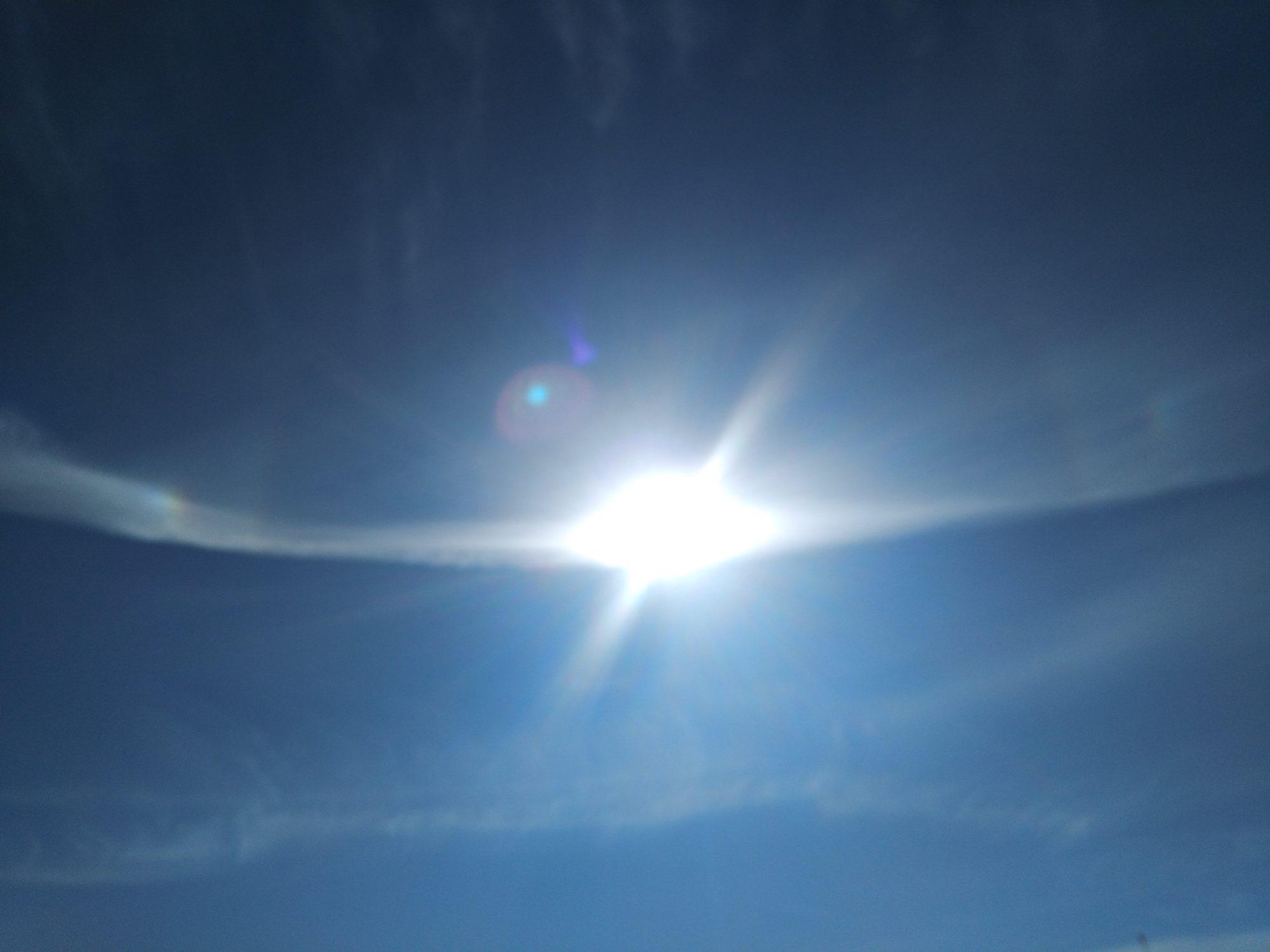 不思議な太陽の光