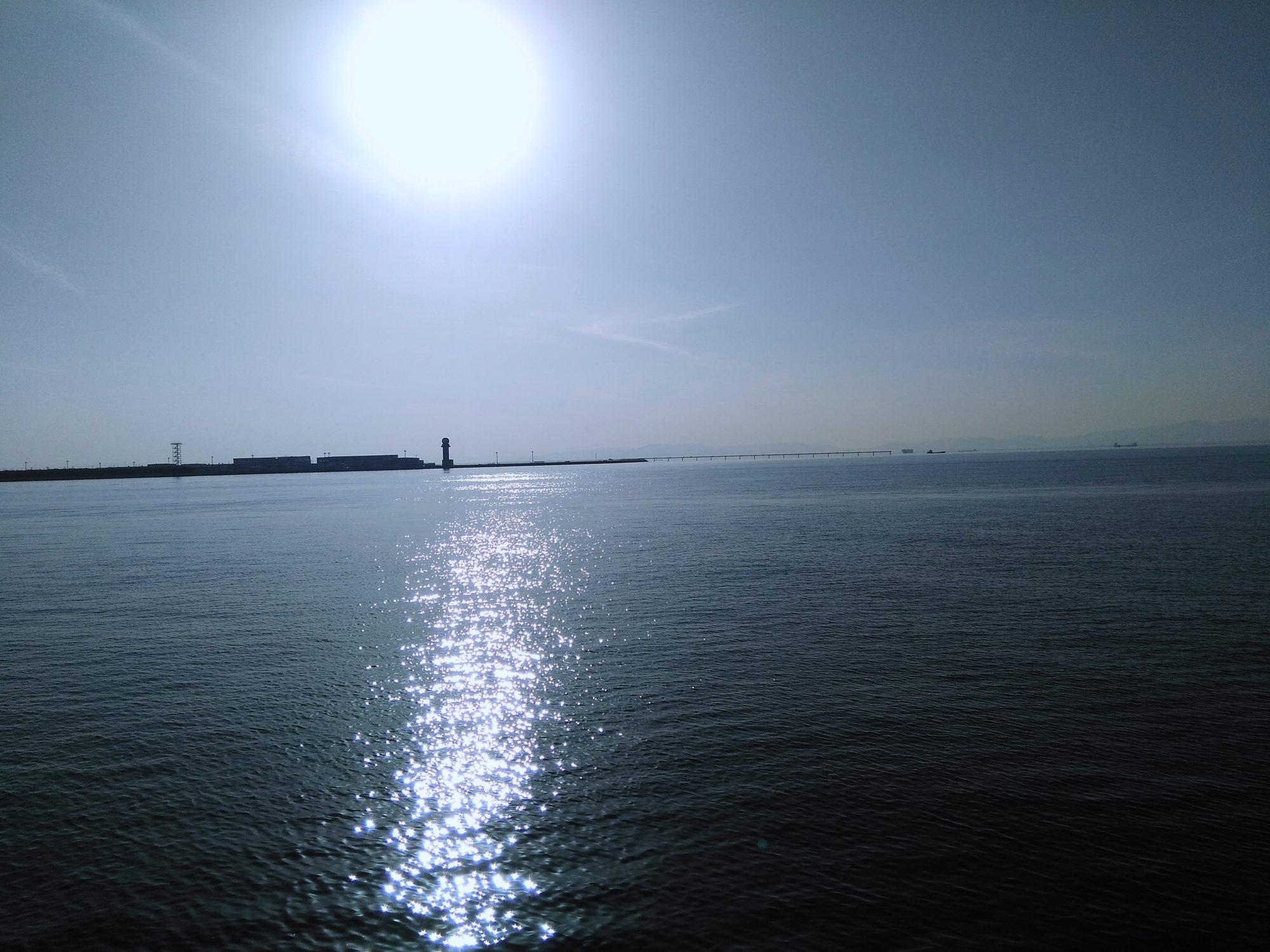 セントレアと海