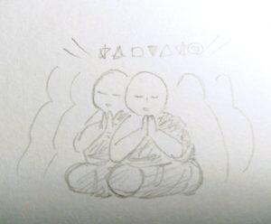 音霊セッションでのイメージ