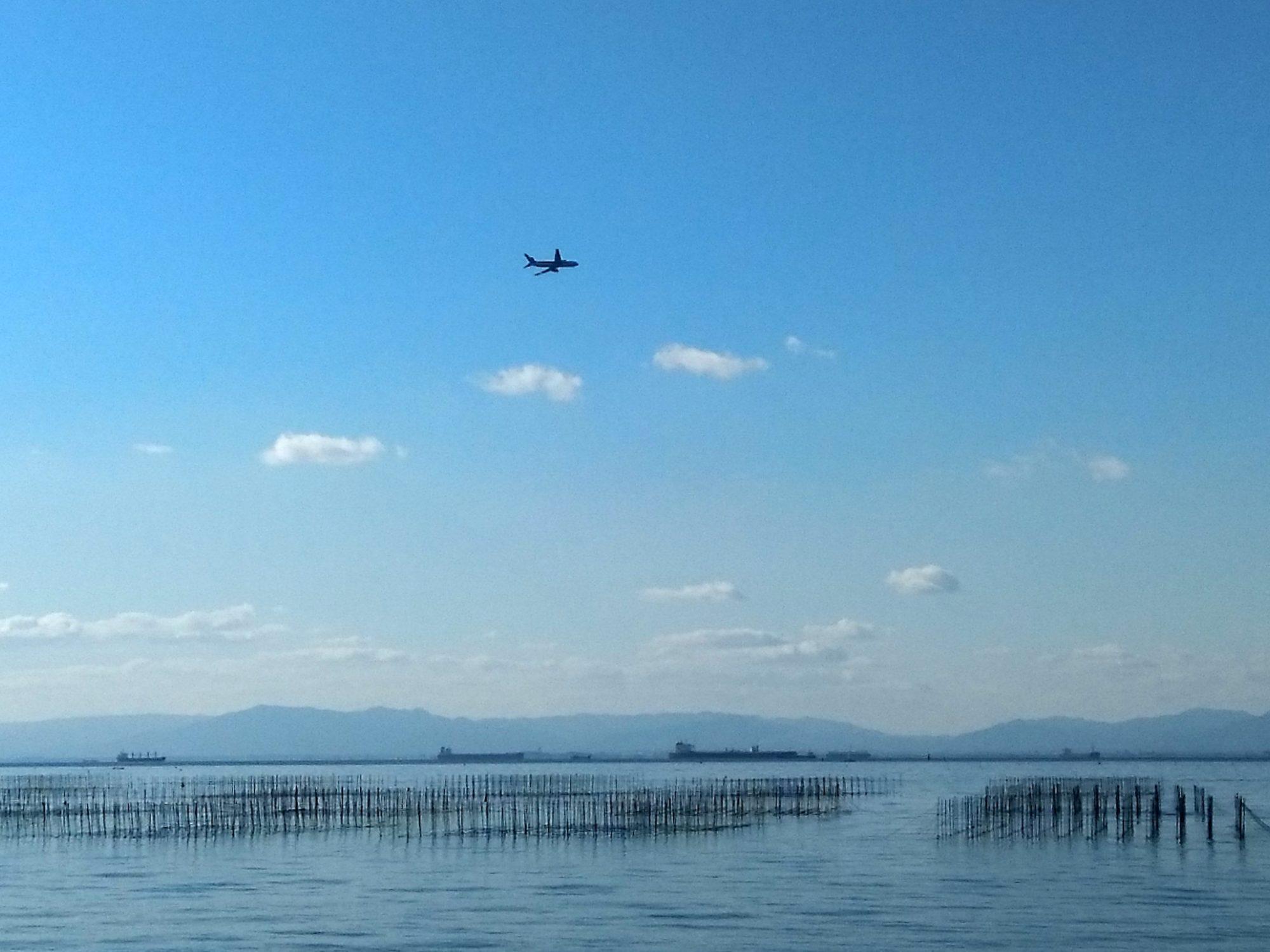 海と飛行機3