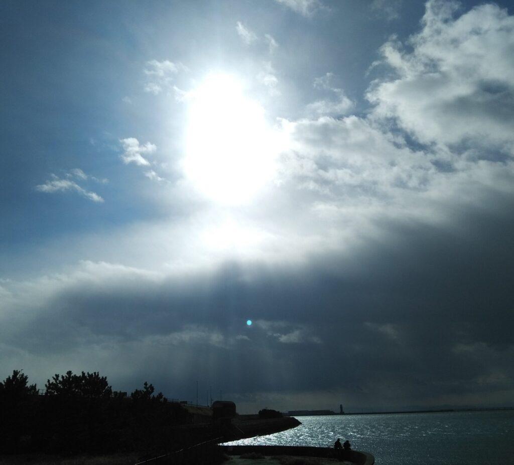 楕円(卵型)太陽