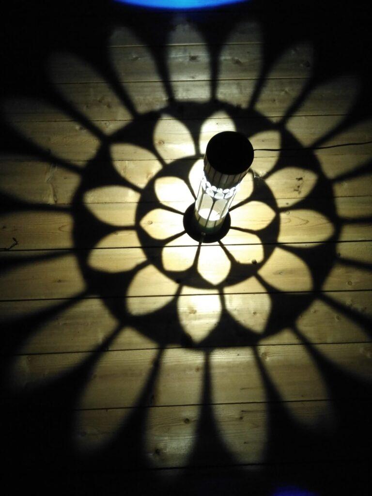 白沢ホタルの里の灯籠