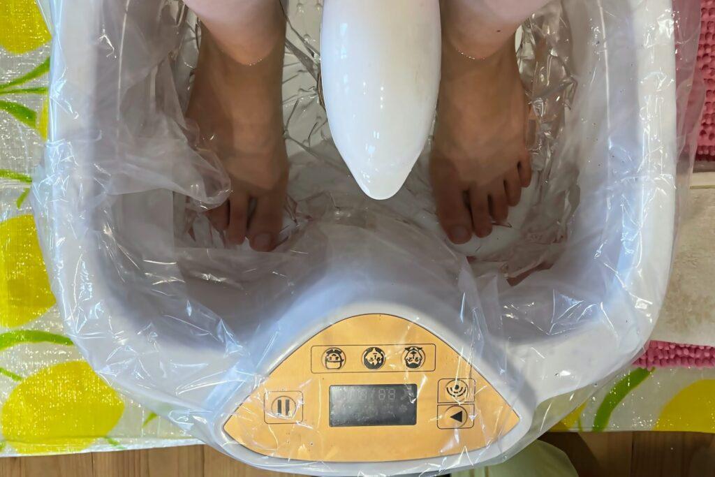 水素足浴デトックスセラピー